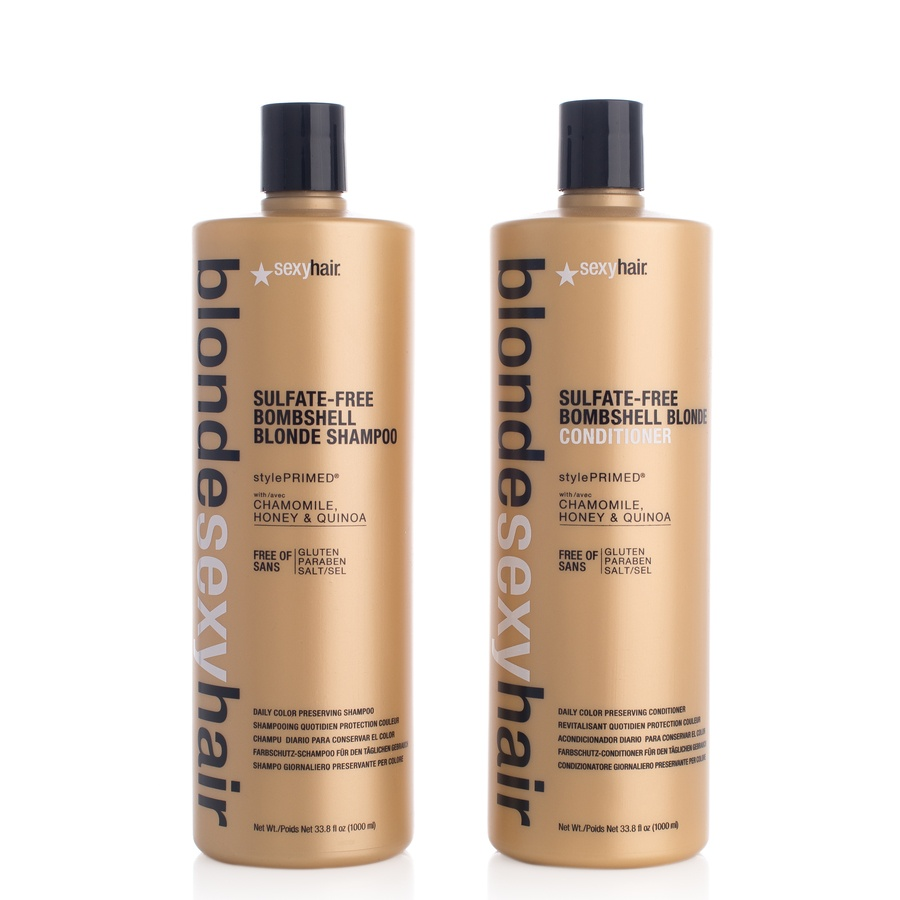 Blonde Sexy Hair Szampon and Balsam (2 x 1000 ml) (Duo)