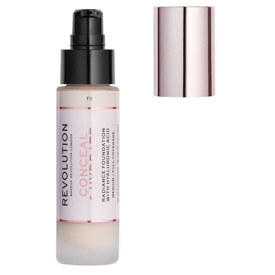 Makeup Revolution Conceal & Hydrate Foundation (23ml), F2