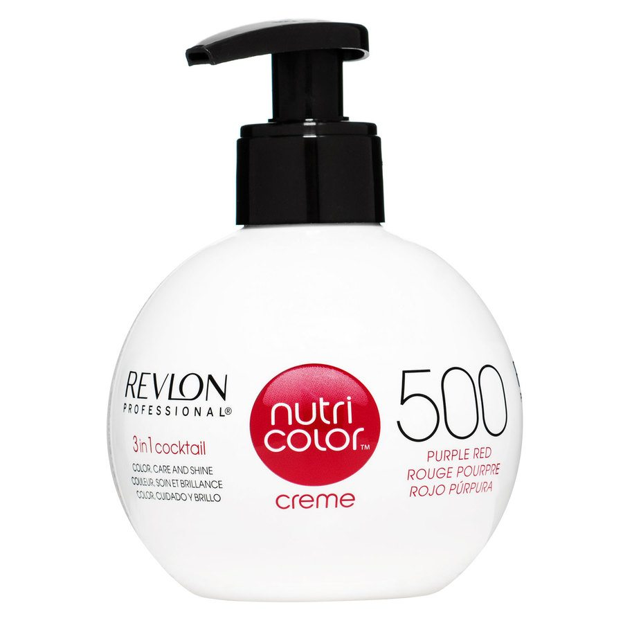 Revlon Professional Nutri Color Creme, #500 Purple Red (270 ml)
