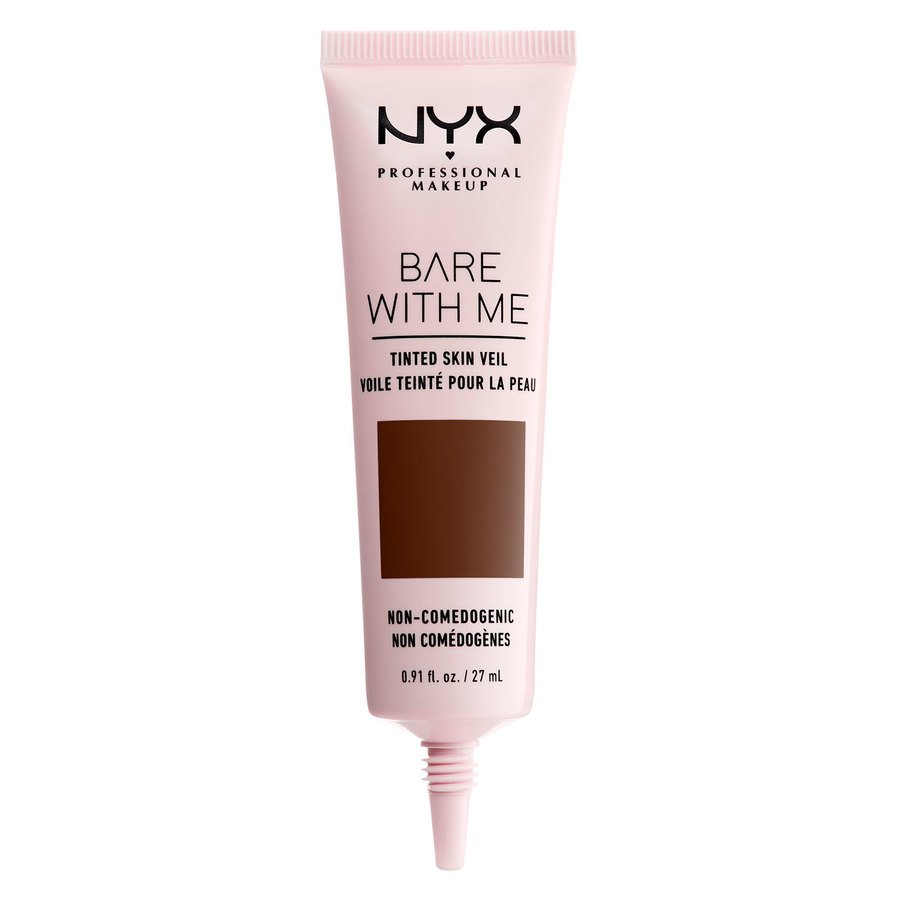NYX Professional Makeup Bare With Me Tinted Skin Veil (27 ml), Deep Espresso