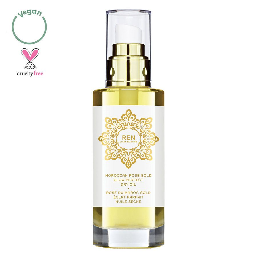 REN Clean Skincare Moroccan Rose Gold Glow Perfect Dry Oil (100 ml)