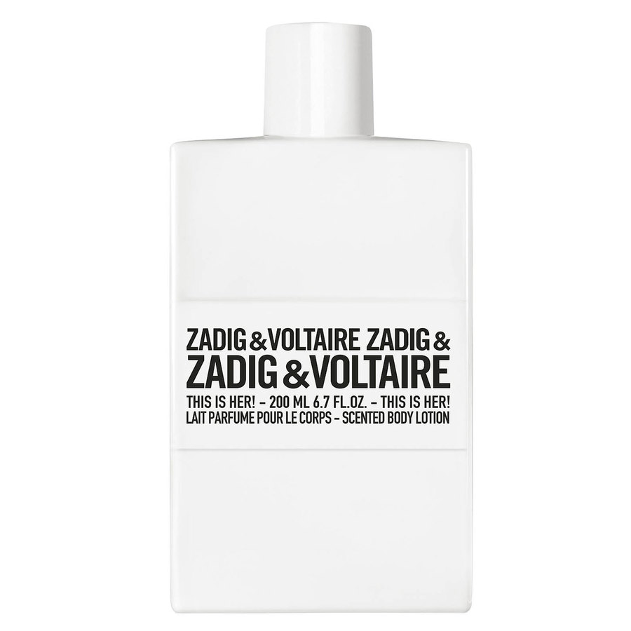 Zadig & Voltaire This Is Her Body Lotion (200ml)